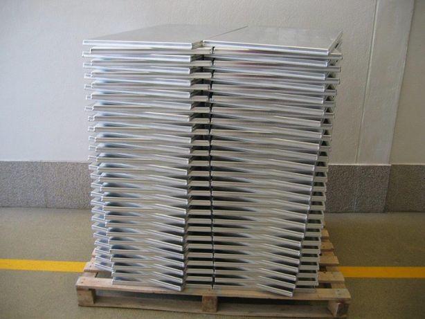 Tabuleiros em alumínio
