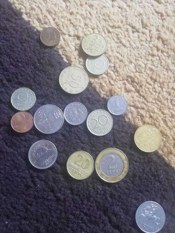 Monety forint, korony duńskie, lithy
