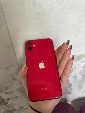 iPhone 11 красный 128gb