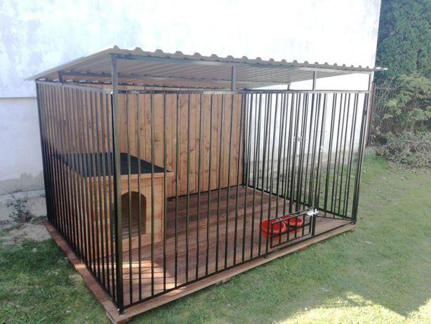 Kojec Klatka Zagroda Buda dla psa 4mx4m Montaż i Gratis i Solidny
