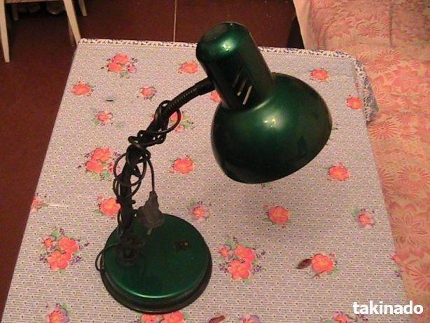 Лампа настольная (Новая ). Метал. Киев. Вишнёвое. Украина.