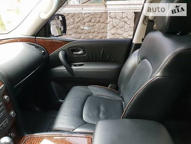 Nissan Patrol y62