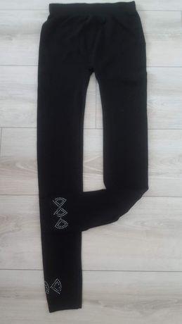 Spodnie legginsy czarne