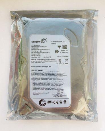 Seagate 500GB SATA3 (Новый, в упаковке)
