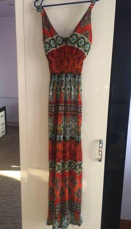 Довге літнє плаття