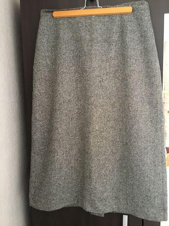 Spódnica wełniana