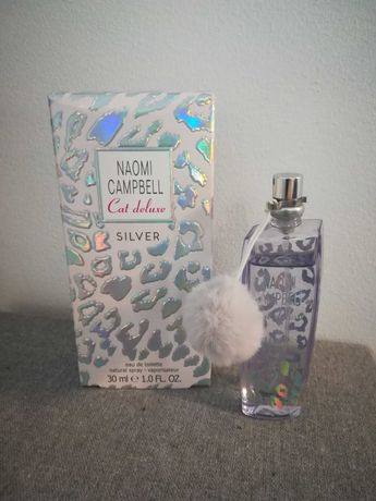 Perfumy woda toaletowa Naomi Campbell cat deluxe silver 30ml