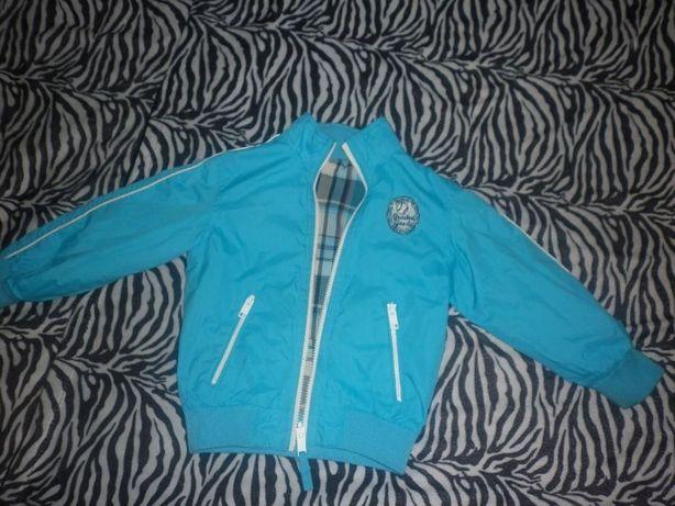 Куртка легкая 3-5лет