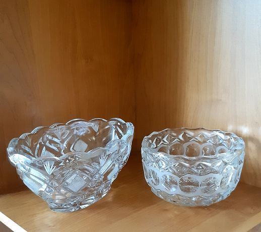 Хрусталь конфетницы салатницы посуда кухня дом вазы