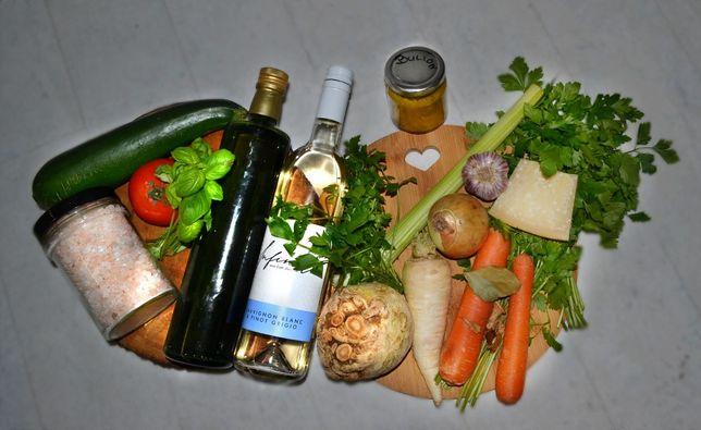 bulion warzywny prezent świąteczny bez chemii, kostka rosołowa 200g