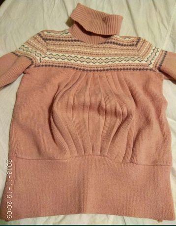 Натуральный свитер беременным
