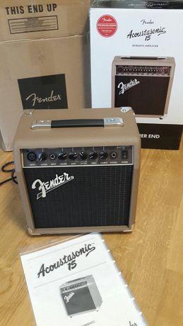 Новый комбоусилитель Fender Acoustasonic 15