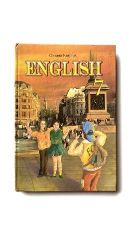 Підручник англійська мова 7 клас, Карп'юк