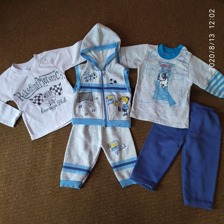 Реглан, жилетка, штани, кофта, костюм на хлопчика
