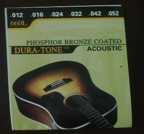 Для акустической гитары струны золото серебро