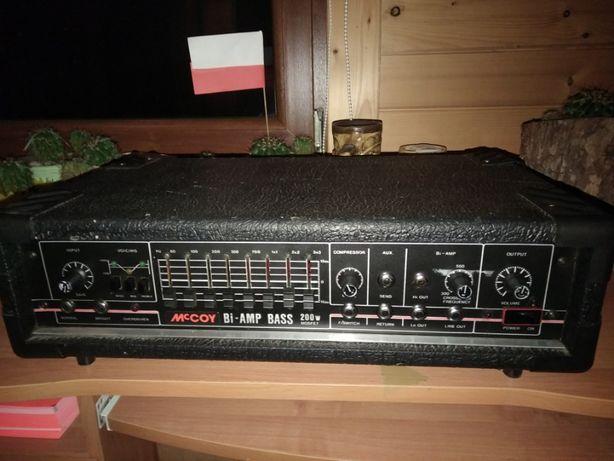 Wzmacniacz Basowy Mccoy Bi-Amp 200w