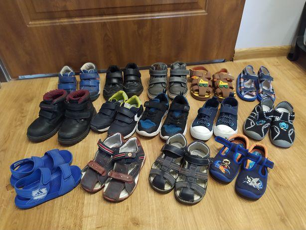 Paczka butów dla chłopca roz. 24 do 27