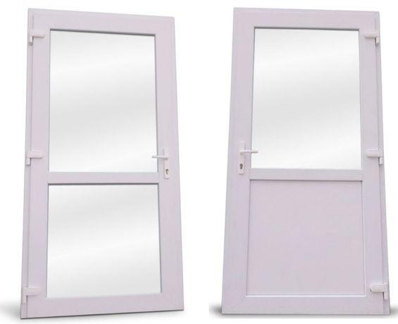 Drzwi PCV -75mm ,sklepowe, biurowe 90x200 - PRODUCENT