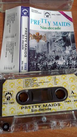 Pretty Maids – Sin-Decade, KASETA MAGNETOFONOWA , 1992 MG