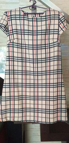 Nowa Sukienka w kratę rozmiar uniwersalny psuje na M L i małe XL