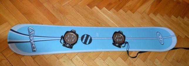 deska snowboardowa NIDECKER Chopper 163cm z wiązaniami Shimano Clicker