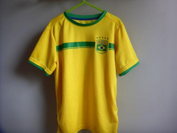 Koszulka Brasil 10, H&M rozmiar 134