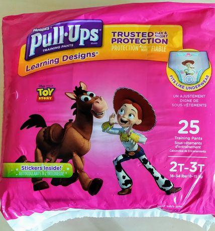 Подгузники-трусики Huggies Pull-Ups. Трусики  Хаггис.