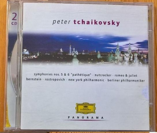 Tchaikovsky - Romeu e Julieta, Quebra Nozes, Sinfª 5 e 6 (CD duplo)