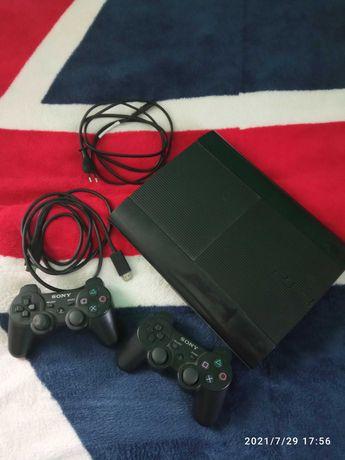 PS3 Super slim 500gb (40 игр) Прошивка HEN