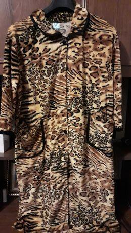 Жіночий одяг, халат тигрова розцвітка