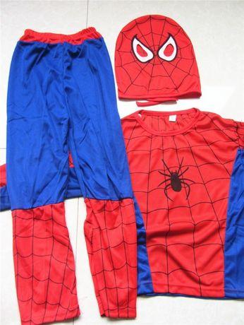 Strój karnawałowy Spiderman r 110-122, 4-7 l NOWY