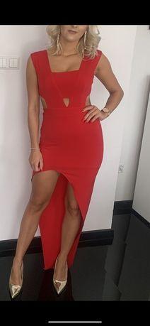 Sukienka Czerwona JALA rozmiar S