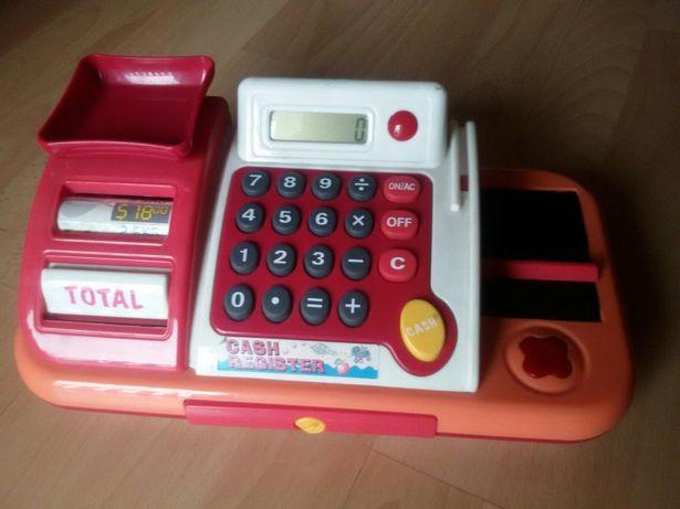 Kasa sklepowa z kalkulatorem dla dzieci