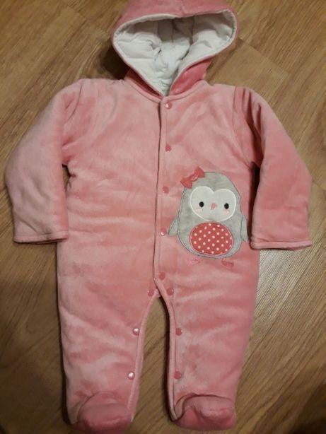 Kombinezon niemowlęcy i kurtka rozmiar 62