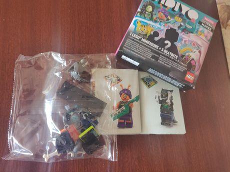 Lego Vidiyo aberta a caixa,figura cão por montar e selado