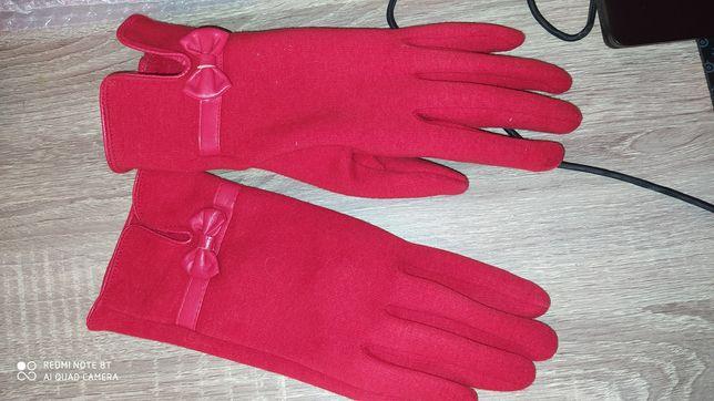Теплые кашемировые перчатки 8,5 размер