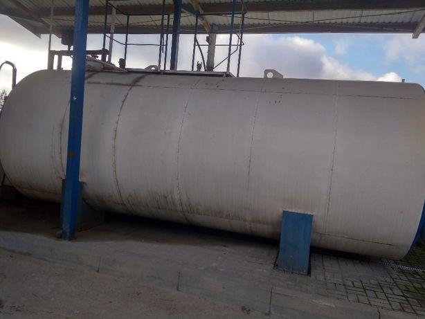 Zbiornik dwupłaszczowy stalowy na paliwo ON 20000L