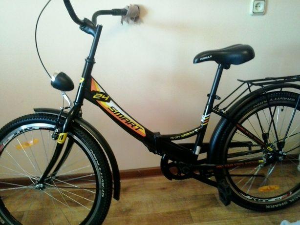 велосипед новый складной городской 1 скорость