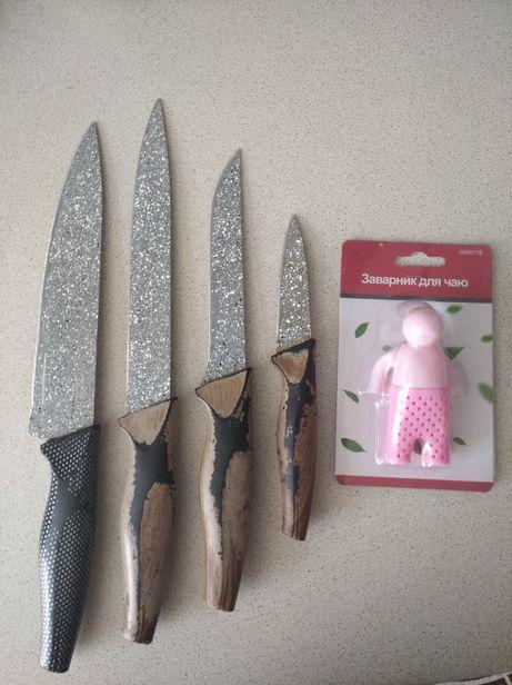 Набор ножей + заварник
