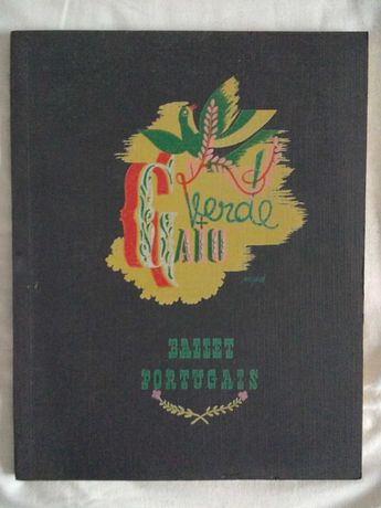 """Livro """"Verde-Gaio – Ballet Portugais"""""""