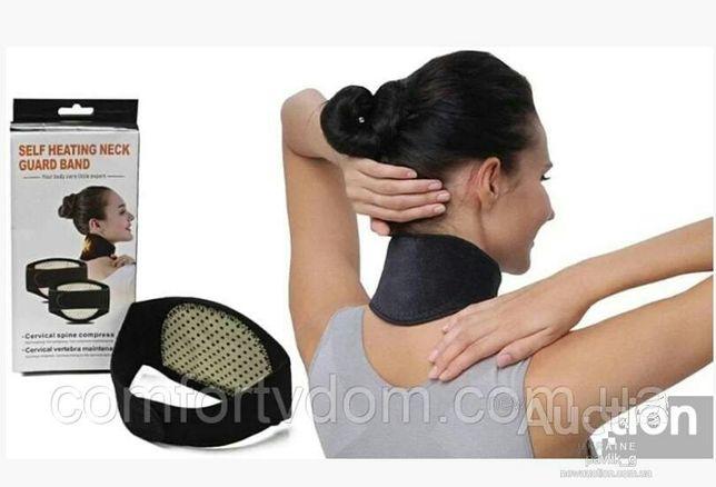 Турмалиновый бандаж массажер для шеи