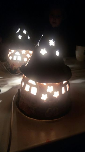 лампа нічник.Светящийся домик