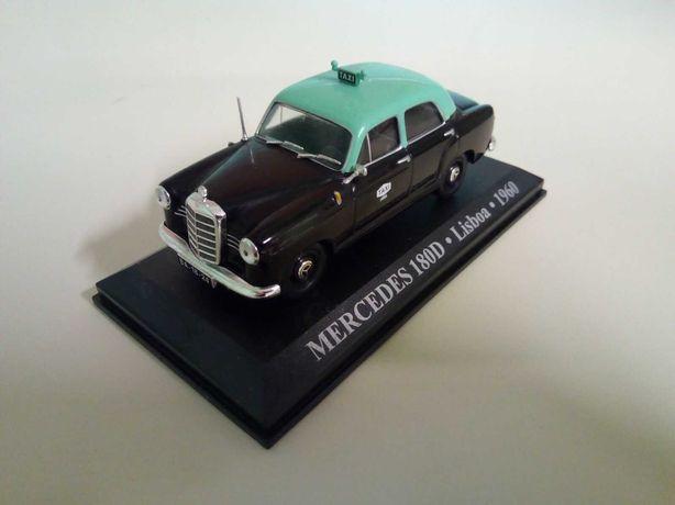 Mercedes, Renault ;  Taxi de Lisboa