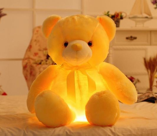 Плюшевый мишка светящийся. Плюшевий ведмедик що світиться Lapo Led Ted