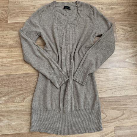 Стильное платье 100% нежнейший кашемир