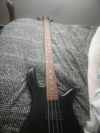 Guitarra Baixo Spector + mala + amplificador Kustom