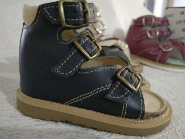 Ортопедическая обувь Ортекс, босоножки Весна