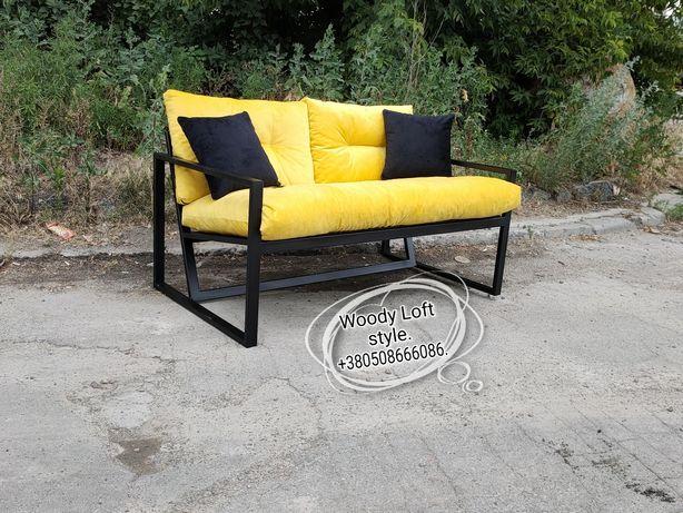 Мебель из металла диваны ,столы loft для кафе ,баров и кальянных, Акци