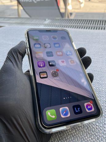 IPhone XS Max czarny idealny stan, caly zestaw, szkło od nowości