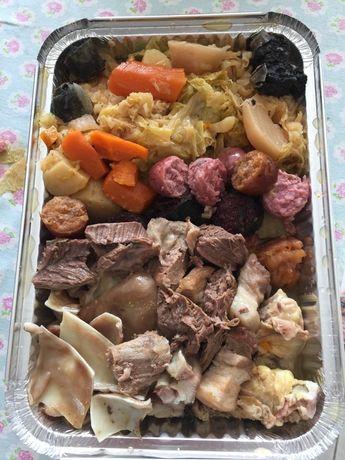 Comida típica portuguesa e mariscada
